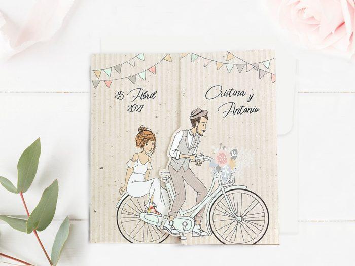 invitatii nunta 39714 crem haioase