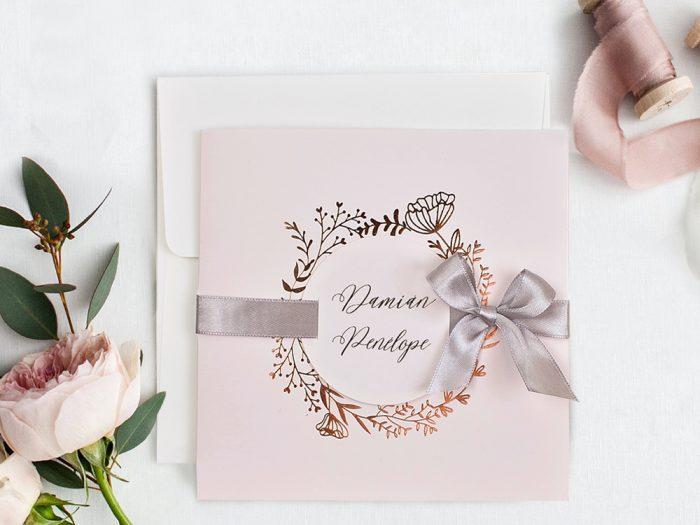 invitatii nunta 39716 elegante crem