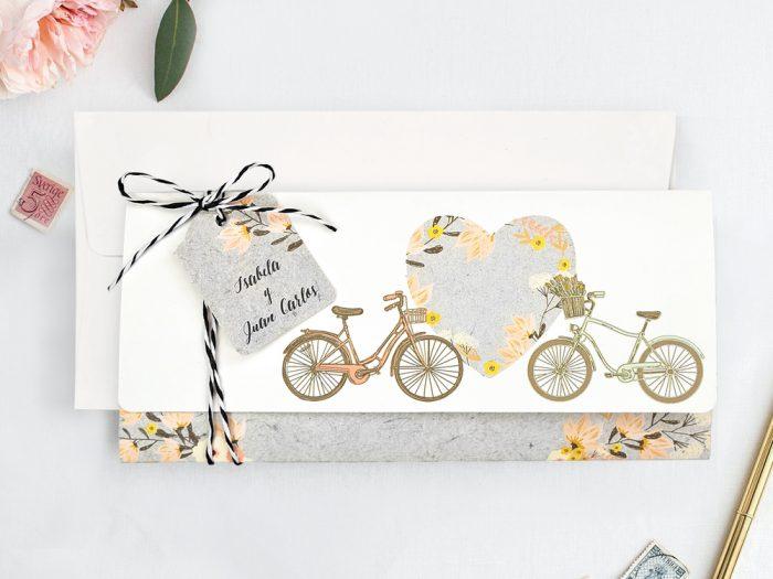 invitatii nunta 39717 alb auriu elegante