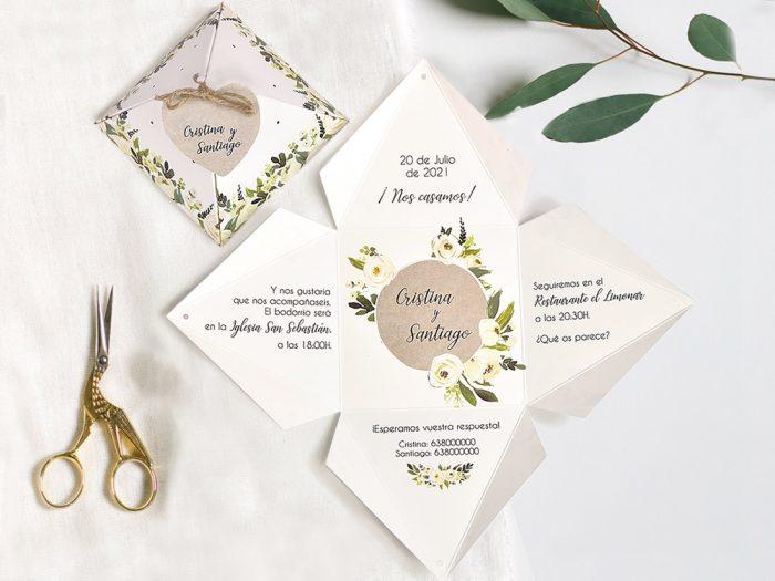 invitatii nunta 39734 eleganta cutiuta