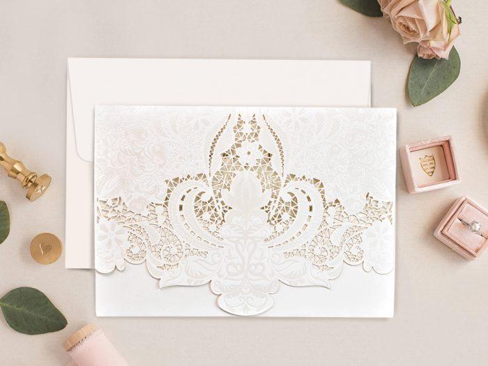 invitatii nunta 39750 elegante crem