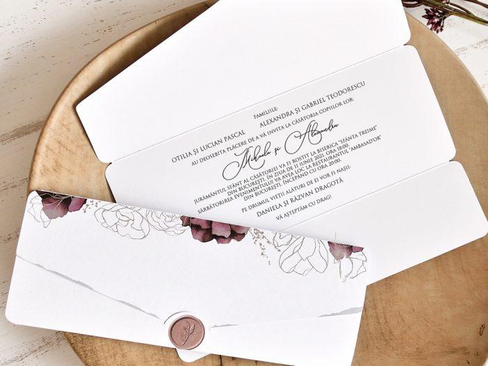 invitatii nunta 39763 elegante ieftine
