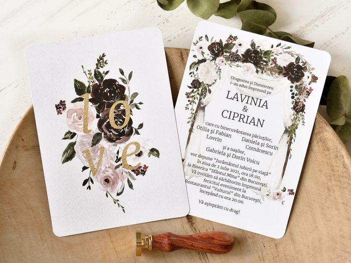 invitatii nunta 39780 elegante ieftine