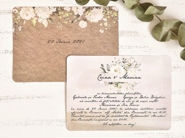 invitatii nunta 39782 elegante ieftine