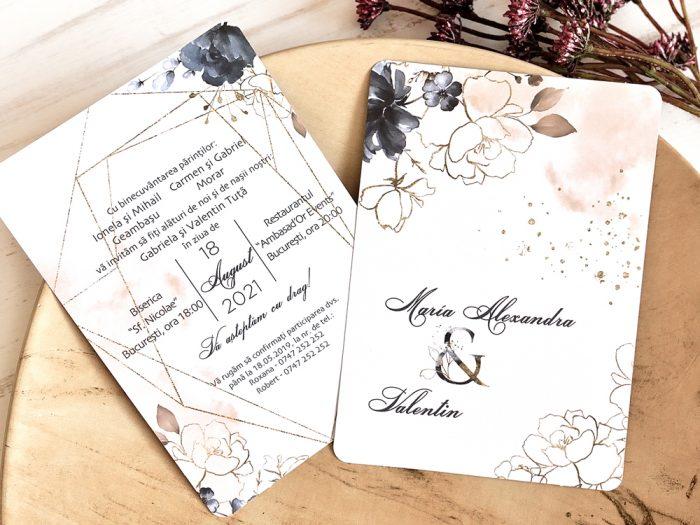 invitatii nunta 39787 elegante ieftine