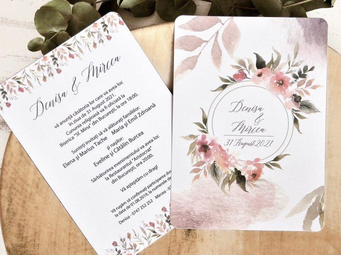 invitatii nunta 39788 elegante ieftine