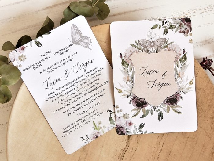 invitatii nunta 39789 elegante ieftine