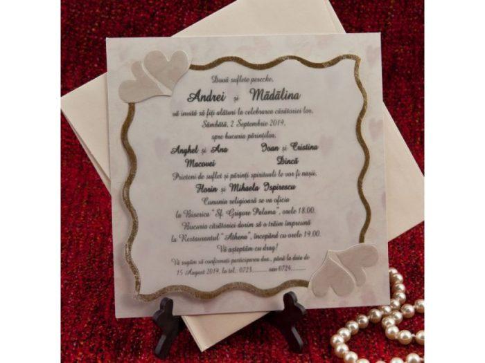 invitatii nunta aurii 18053
