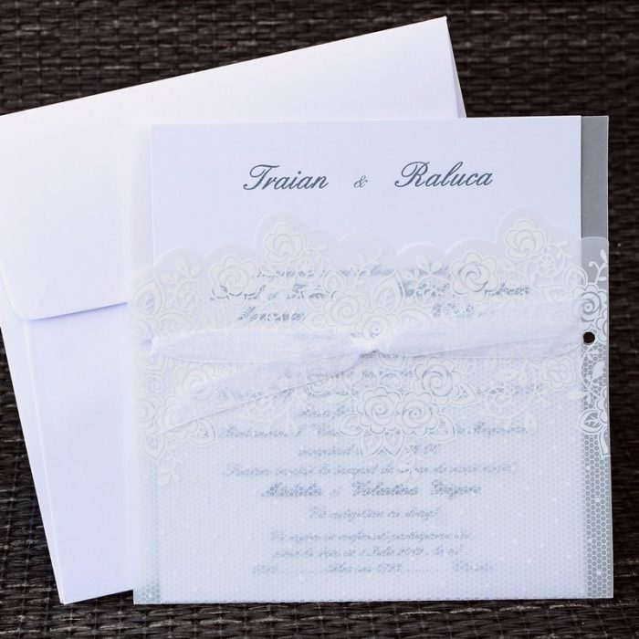 invitatii nunta si botez simple 1143