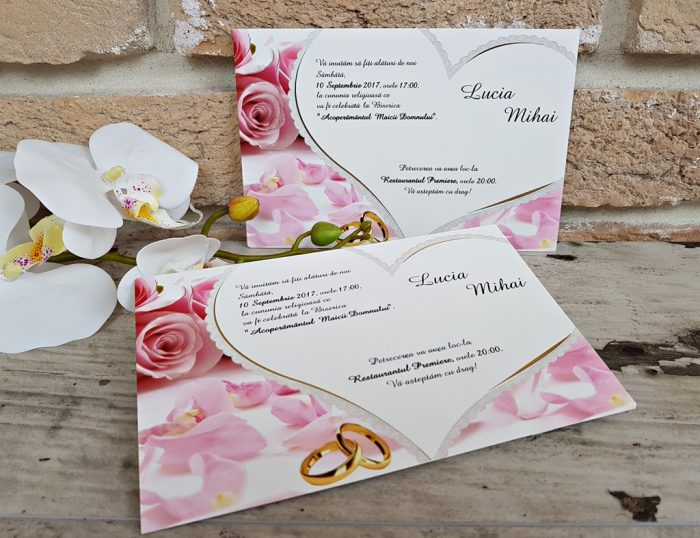 invitatii nunta ieftine 2652