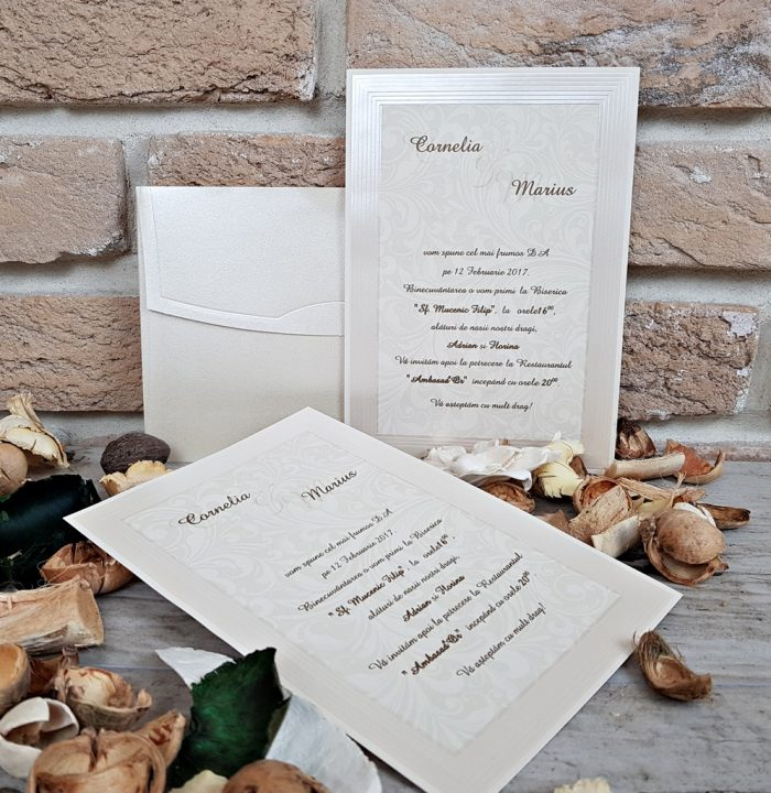 invitatii nunta simple elegante 2684