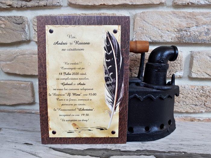 invitatii nunta si votez clasice 2740