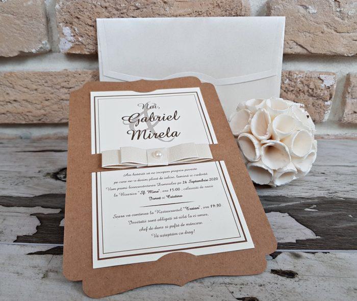 invitatii nunta elegante 2764