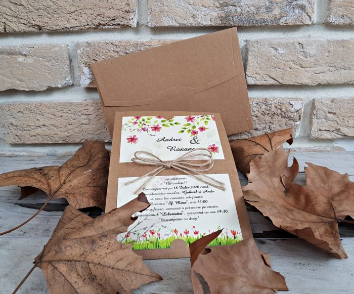 invitatii nunta ieftine 2766