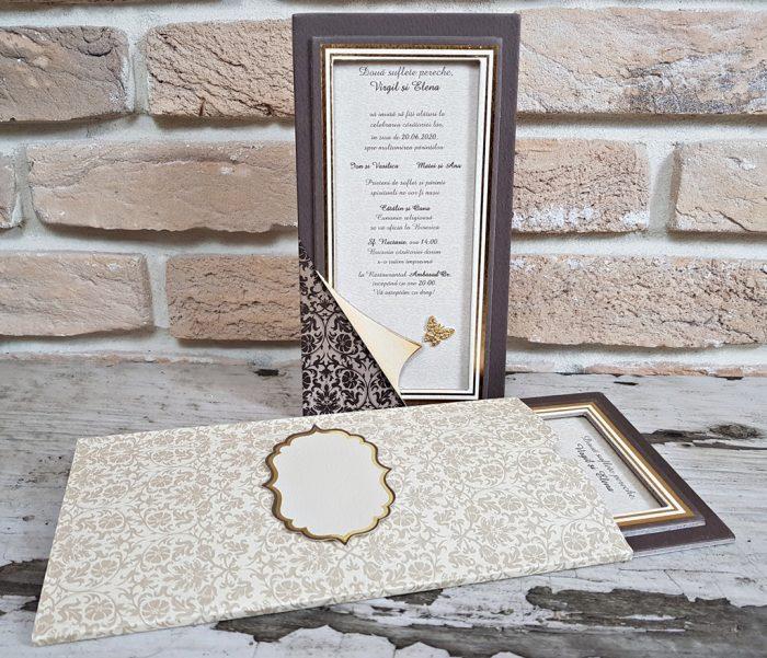 invitatii nunta cutiuta 3709