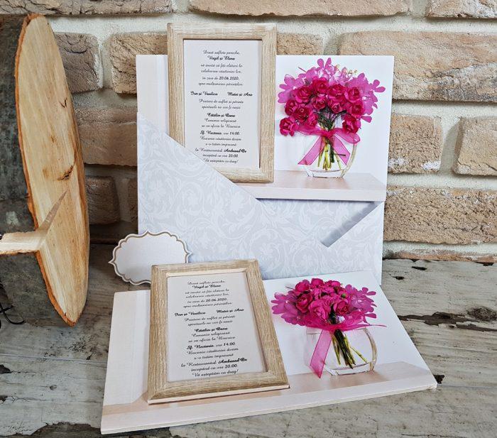 invitatii nunta tablou 3714