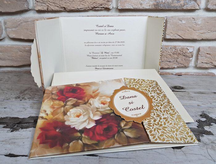 invitatii nunta cutiuta 3717