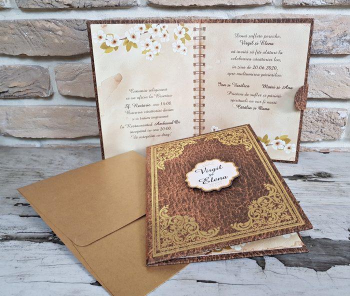 invitatii nunta carte 3724
