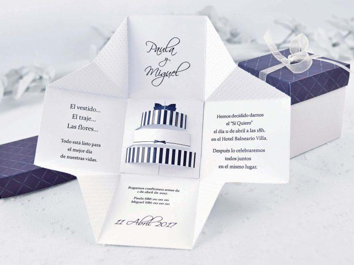 invitatii nunta cutiuta mov 39107