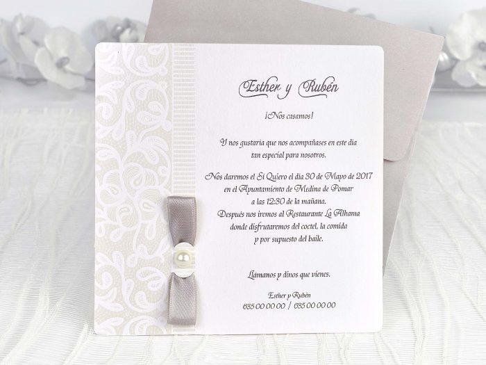 invitatii nunta mov elegante 39117
