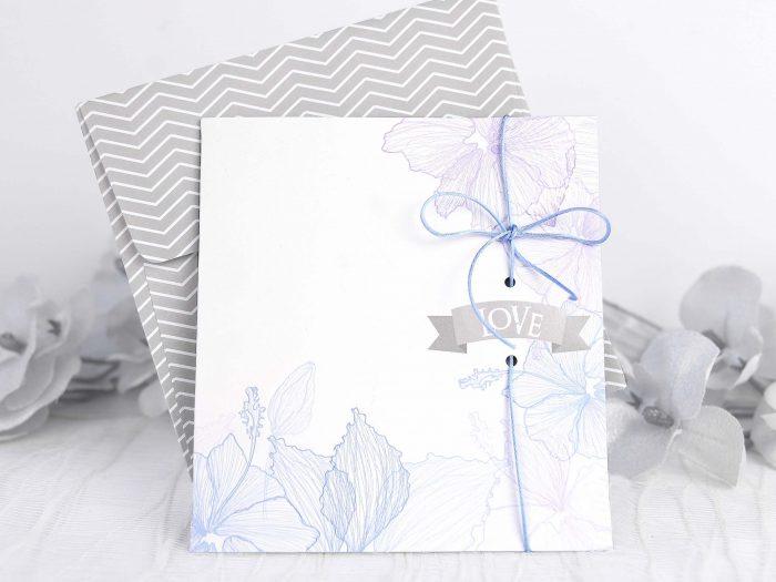 invitatii nunta albastre 39234