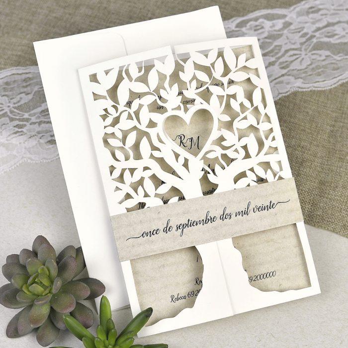 invitatii nunta copacul vietii 39616