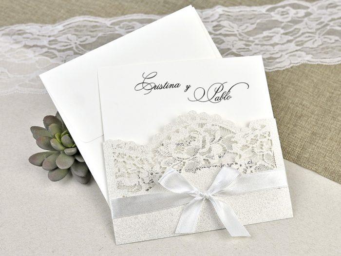 invitatii nunta crem elegante deosebite 39621