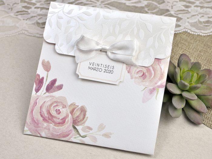 invitatii nunta roz 39623
