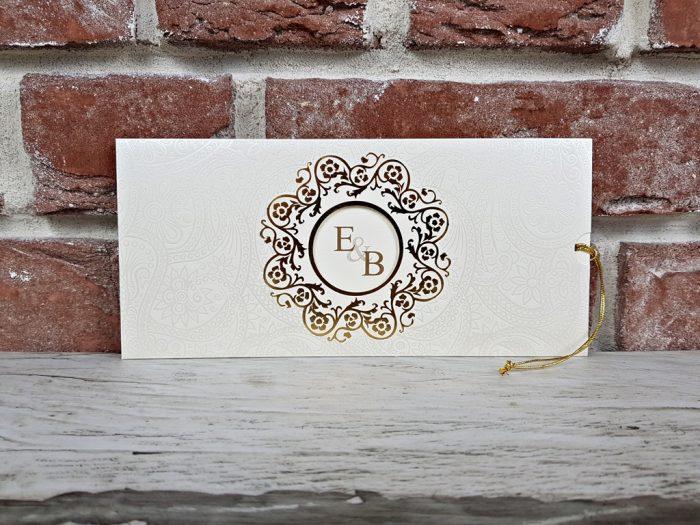invitatie nunta 5589 eleganta clasica