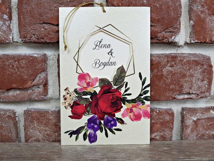 invitatie nunta 5598 eleganta