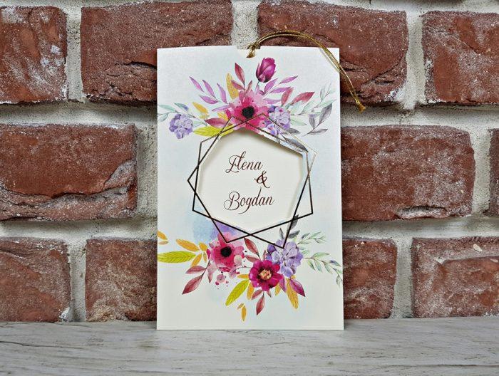 invitatie nunta 5604 eleganta