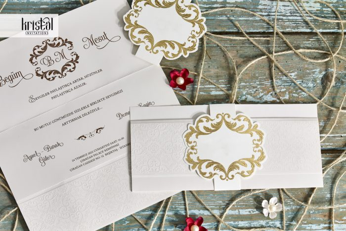 invitatii nunta si botez simple 70336
