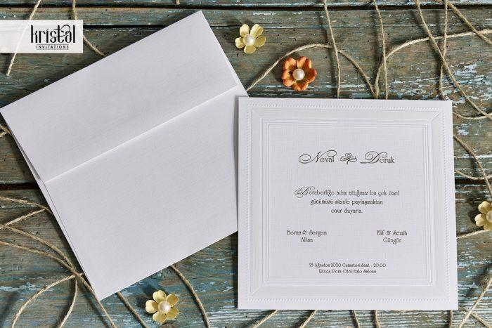 invitatii nunta clasice elegante simple 70784