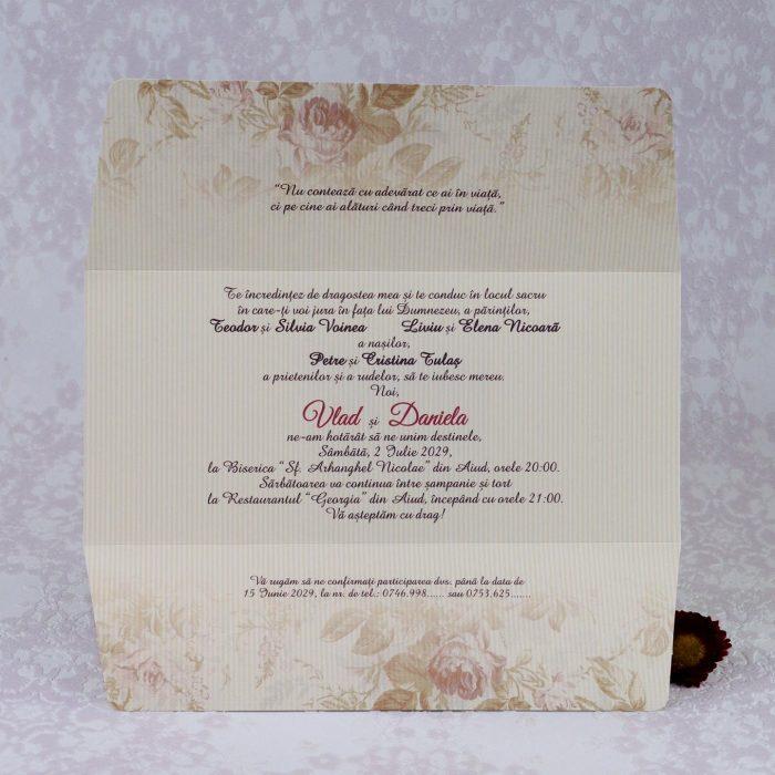 invitatii nunta simple 2211