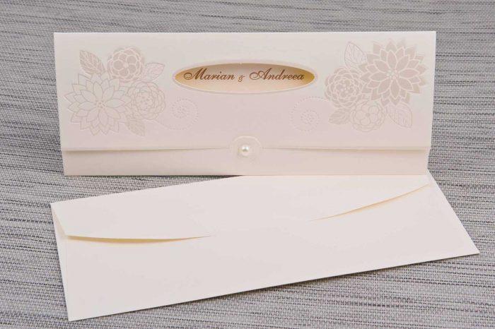 invitatii nunta crem1160