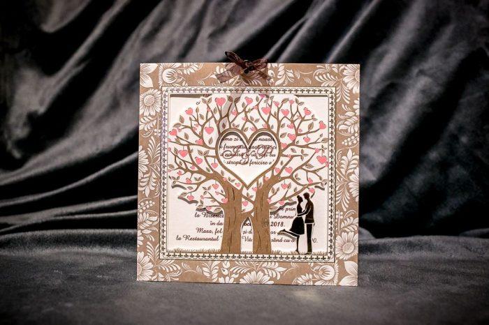 invitatii nunta copacul vietii 20