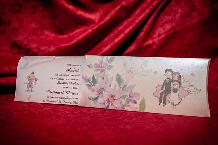 invitatii nunta pentru nunta si botez 5011