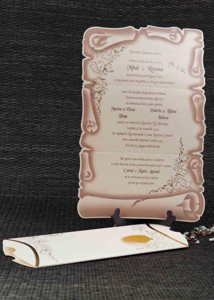 invitatii nunta papirus 1087