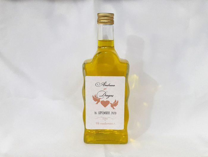 sticle marturii nunta 500 ml 0,5 l