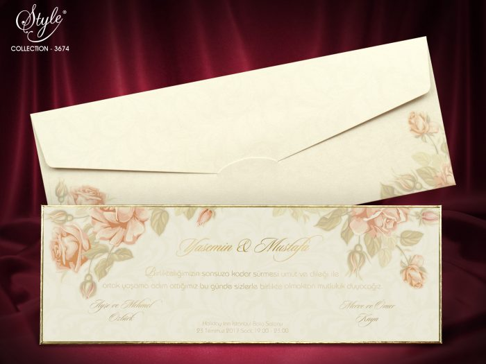 invitatii nunta elegante 3674