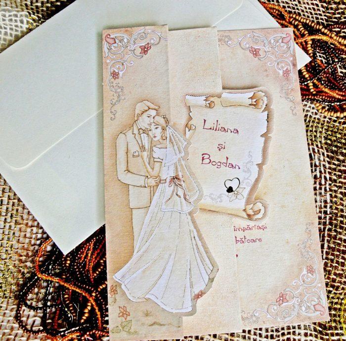 Invitatii Nunta Vintage Cele Mai Noi Colectii De Invitatii Nunta