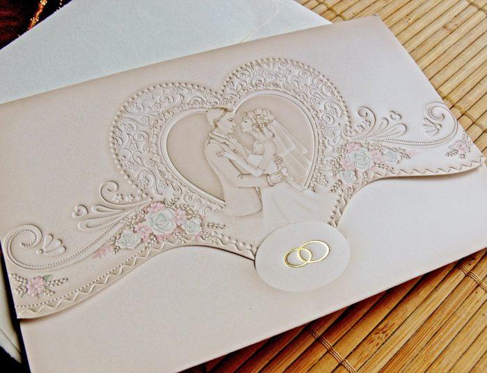 invitatii nunta vintage 31316